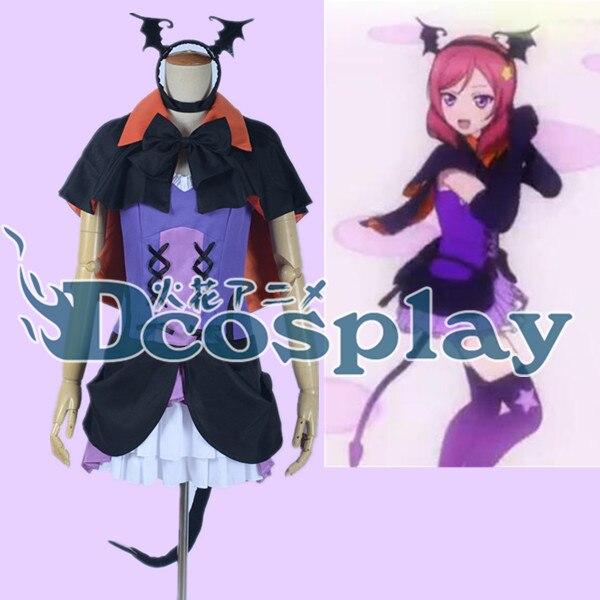 love live! Nishikino Maki stage cosplay costume