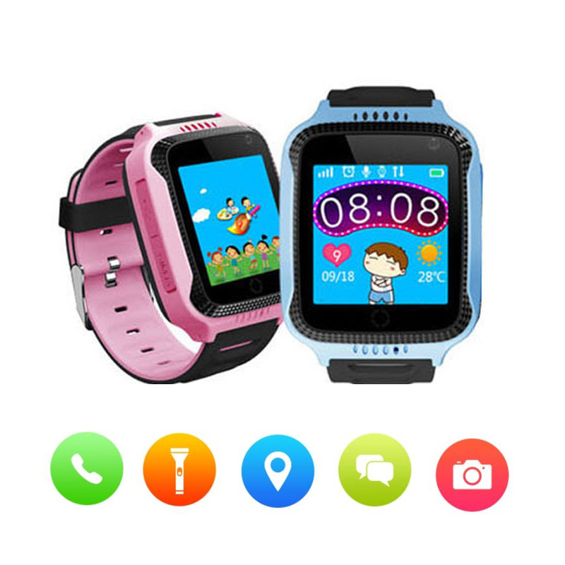 Q528 Child Smart Watch Wristwatch Kids GPS/LBS Finder Locator SOS Call Position Anti-lost Tracker Child Safe Monitor Smartwatch