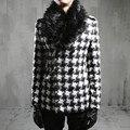 2017 inverno Metrosexual casaco casaco de lã de algodão mais quente F76 P125 homens's.