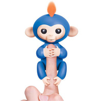 2017 Fingerlings Glitter Małpa Wzrosła Interaktywne Dziecko Zwierzę Inteligentne Zabawki fingerlings Cub Inteligentne Elektroniczne Zwierzątko Wskazówka Małpa małpa