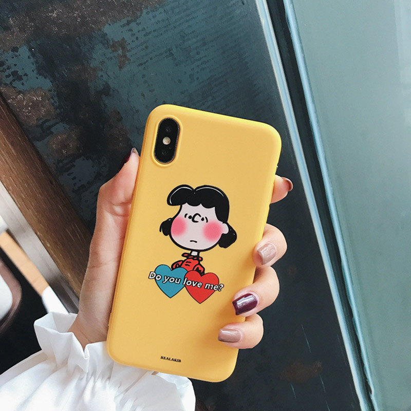 """Valentine 2019 - """"I LOVE YOU SO MUCH"""" iPhone Case For Couples - Photo 2 Yellow"""