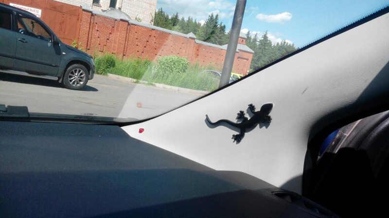 1 pçs carro abs lagarto gecko emblema estilo do carro para audi a4 a3 a5 q3 quattro tt s3 s5 rs3 rs4 adesivos decorativos acessórios do carro