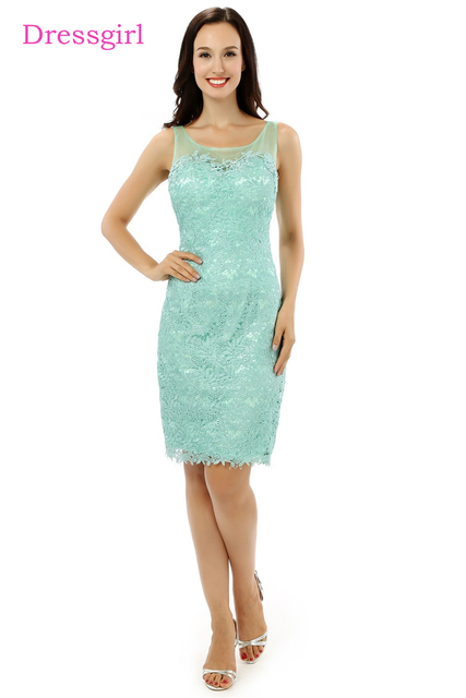 Plus Size Turquoise 2018 Mother Of The Bride Dresses Sheath Knee ...