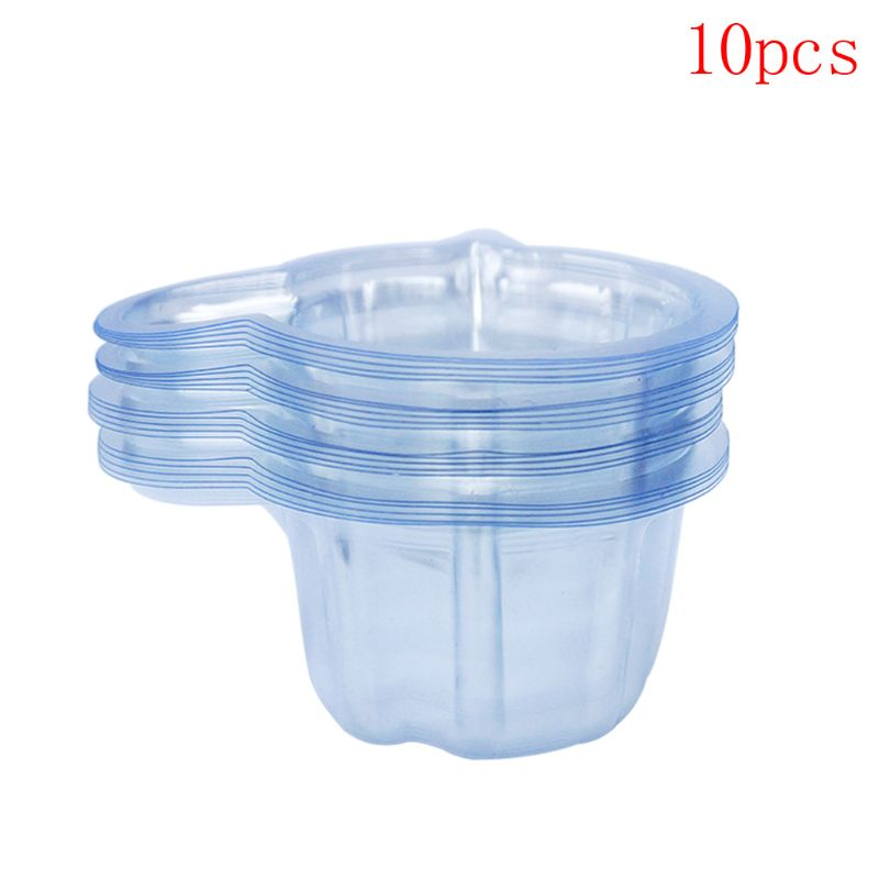 10Pcs 40ml Disposable Plastic Clear Dipstick Pregnancy Test Urine Cup Container