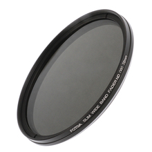 FOTGA 52 55 58 67 72 77mm Schlank Fader Neutral Density ND filter Variable Einstellbare ND2 zu ND400