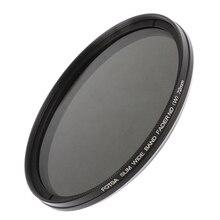 FOTGA 52 55 58 67 72 77mm Slim Fader Neutral Density ND filter Variable Adjustable ND2 to ND400