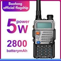 מכשיר הקשר מכשיר הקשר Baofeng UV5RE Dual Band UV5RE CB רדיו 128CH VOX פלדה מעטפת Ham Radio משדר מקצועיות לציד רדיו (1)