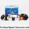 Для Nissan Elgrand/Серена 2010 ~ 2016/RCA AUX Проводной Или Беспроводной/HD Широкоугольный Объектив/CCD Ночного Видения/Автомобильная Камера Заднего вида