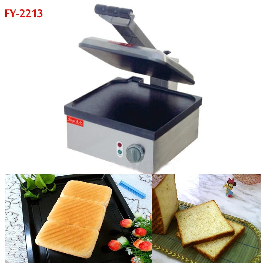 2pcs FY 2213 New style Big pan Electric bread toaster Pancake machine