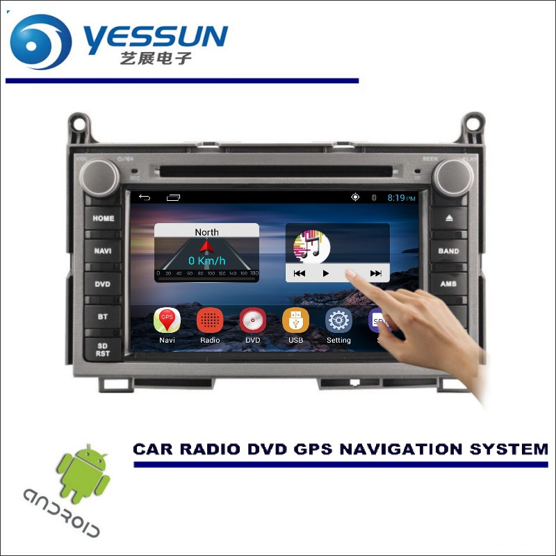 YESSUN For Toyota Venza 2009~2016 - Car DVD Player GPS Navi Navigation Android System Radio Stereo Audio Video Multimedia yessun for mazda cx 5 2017 2018 android car navigation gps hd touch screen audio video radio stereo multimedia player no cd dvd