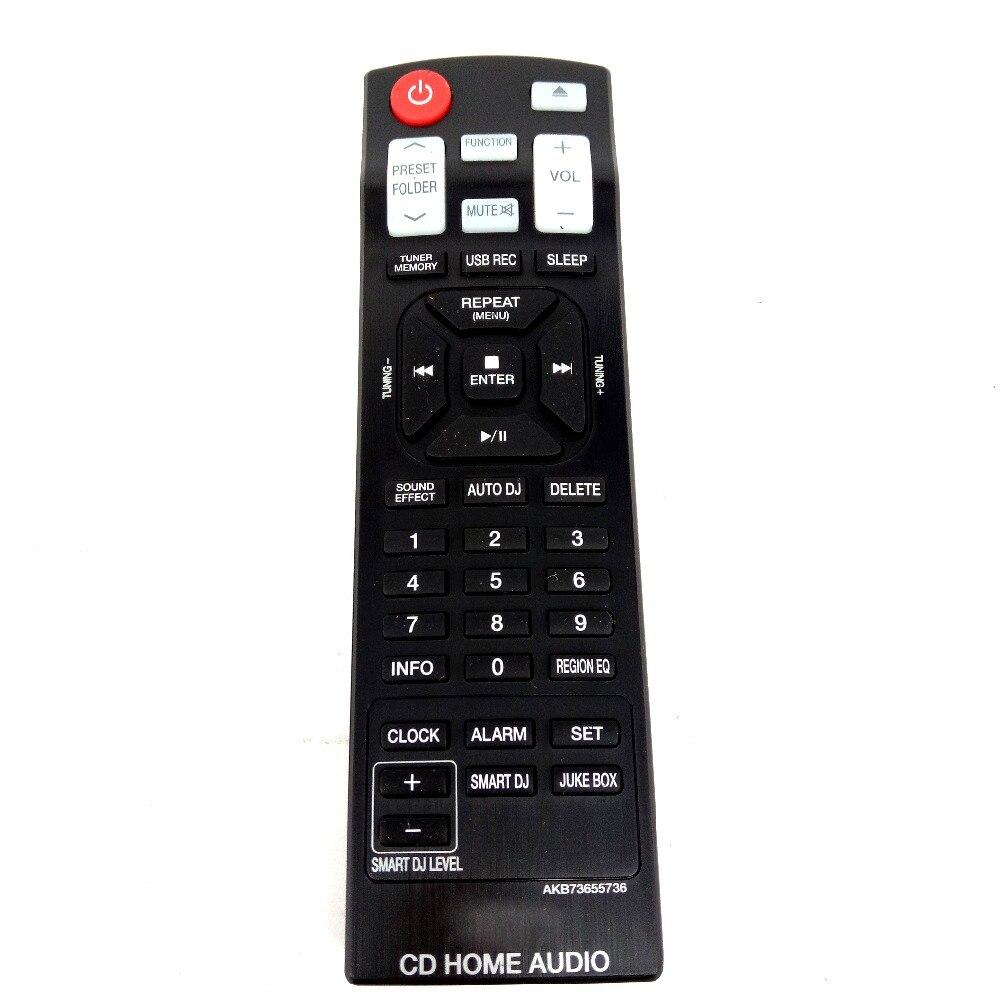 NEW Original AKB73655736 for LG CD HOME AUDIO Remote control for CM9940 CM9940FB Fernbedienung