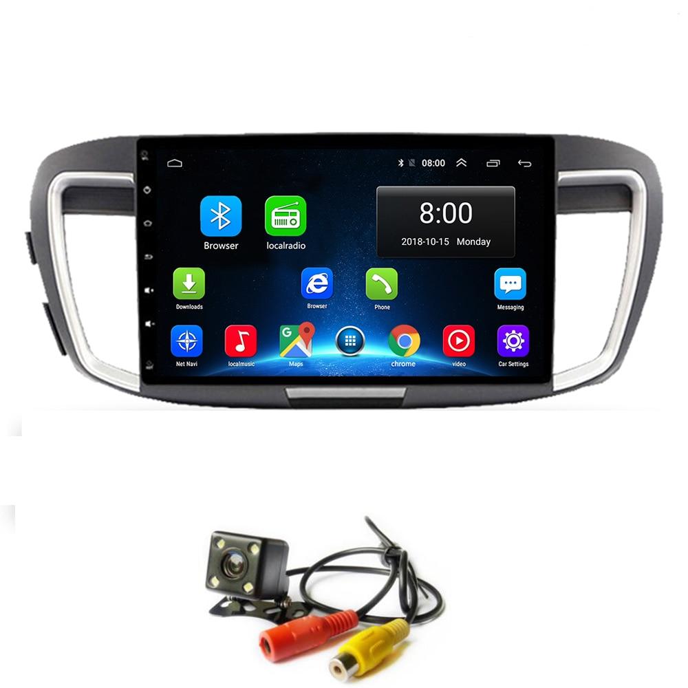 Android 8.1 autoradio GPS pour Honda Accord 9 2013-2017 unité principale WIFI lecteur multimédia Audio HD écran tactile carte