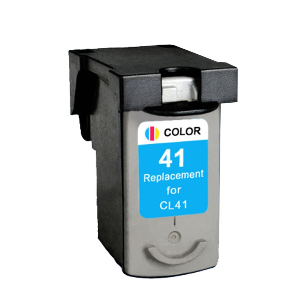 все цены на 1pcs CL41 Compatible Ink Cartridge For Canon CL41xl PIXMA iP1600 iP1200 iP1900 MP140 MP150 MX300 MX310 MP160 printers онлайн