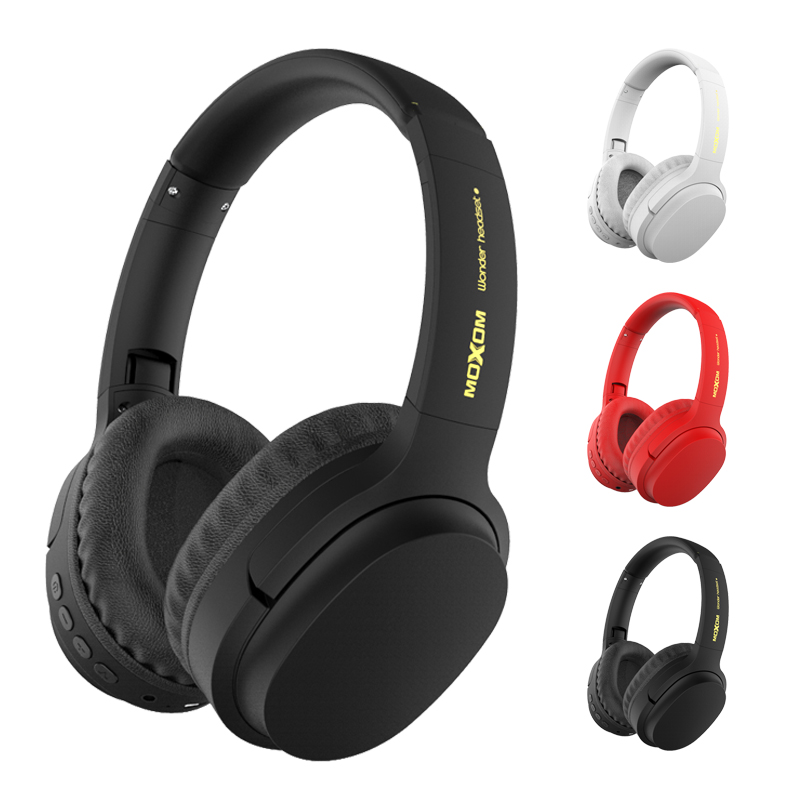 Moxom Bluetooth Headphones User Defined Active Noise Cancelling Wireless Headset For Phones And Music With Face Recognition Bluetooth Earphones Headphones Aliexpress