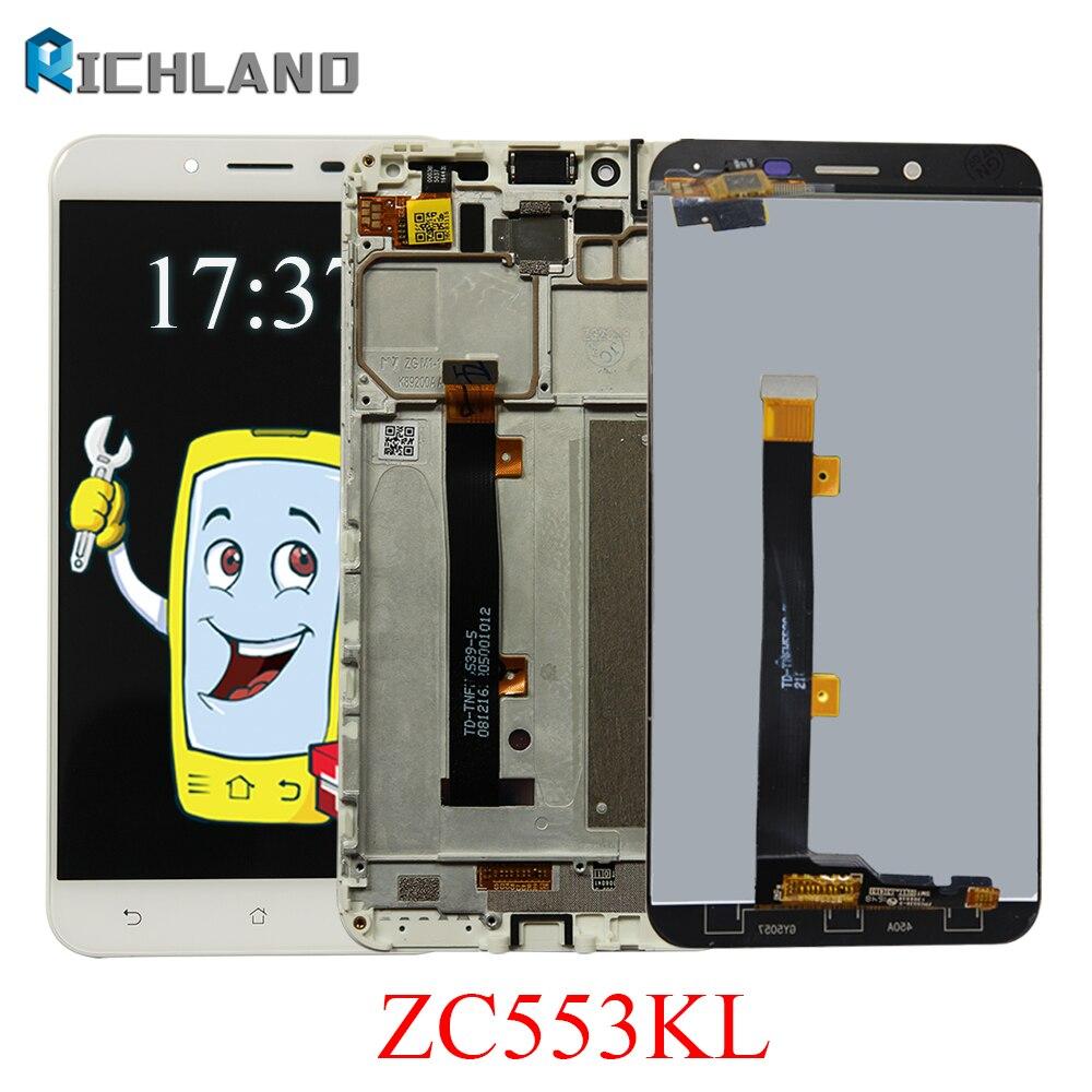LCD Pour Asus ZenFone 3 Max ZC553KL Affichage à L'écran Tactile Digitizer Assemblée Remplacement Outil Gratuit