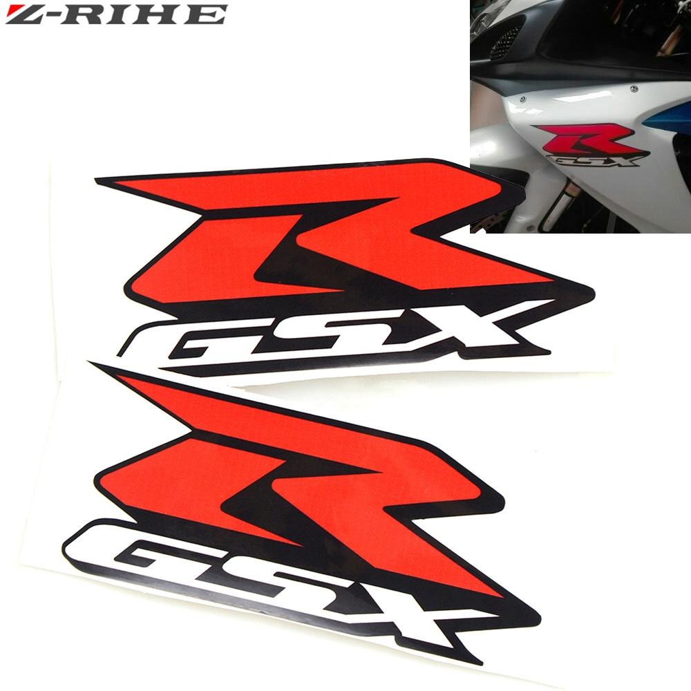 """Motorcycle accessories 3D FOR GSX-R GSXR 600 Emblem Badge Sticker 3D Tank Wheel Logo """"GSXR"""" Decal For Suzuki GSXR600 Label"""