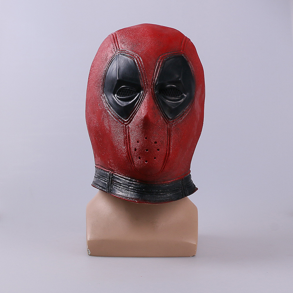 Marvel Deadpool Masks Halloween Cosplay Costume Props Superhero Movie Latex Mask Collectible Toys Party (3)