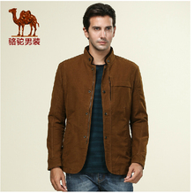 Camel men's jacket straight camel casual jacket american style male jackets