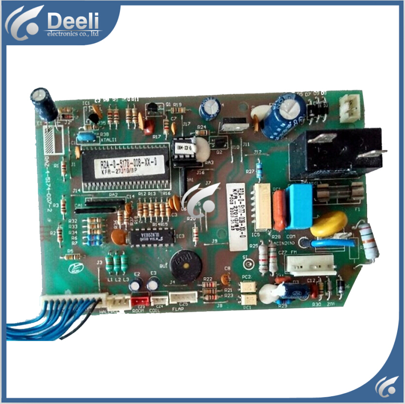 95% new good working for air conditioning Computer board KFR-3301G RZA-4-5174-008-XX-0 good working цена и фото