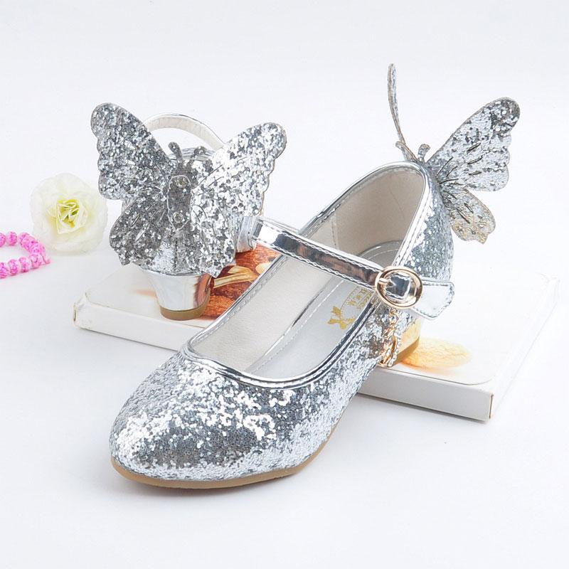 Meisjes lederen schoenen kinderen mode prinses feestschoenen herfst - Kinderschoenen - Foto 2