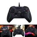 1 pcs choque vibração usb wired pc game controller gamepad joystick game pad joypad controle para xbox one l3fe