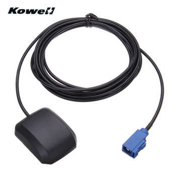 KOWELL Car GPS Antenna Signal Booster Amplifier Aerials Whip Mast Fakra for Volkswagen VW MFD2 RNS2-510 Golf5 MFD3 for Audi image