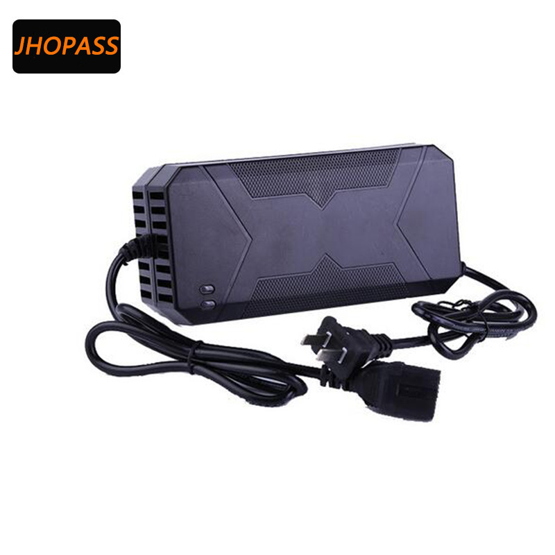 Smart Intelligent Lead Acid Battery LED Screen Portable Charger 48V 20AH For Electric Bike Bicyle Scooters Output DC220V