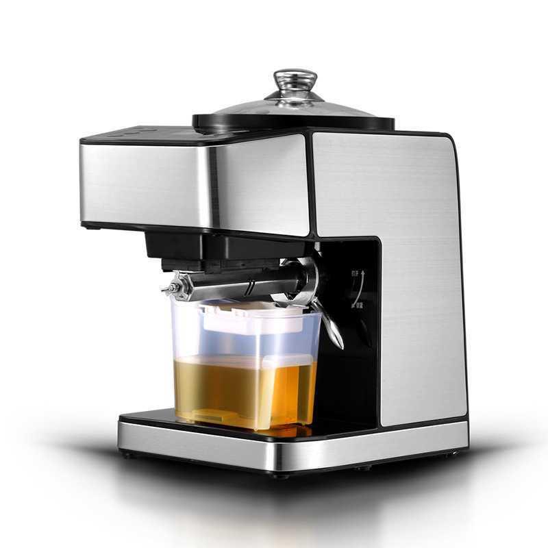 Presse à huile intelligente automatique en acier inoxydable pressée à froid bande chaude cuisson ménage commercial petite et moyenne taille