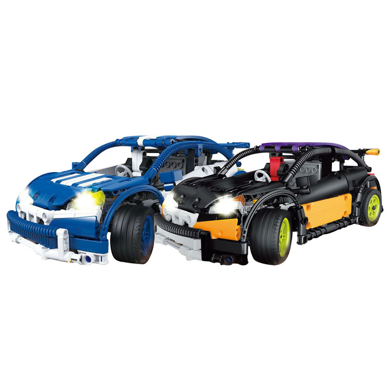 New Super Compatible Genuine Technic Series The Hatchback Type R Set MOC Building Blocks Bricks Educational