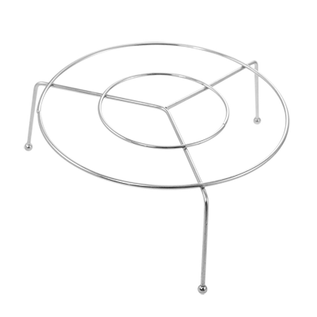 HGHO-New 13.5cm Stainless Steel Wire Steamer Rack Food Steaming Stand 0 8mm 304 stainless steel wire bright surface diy materialhard steel wire cold rolled