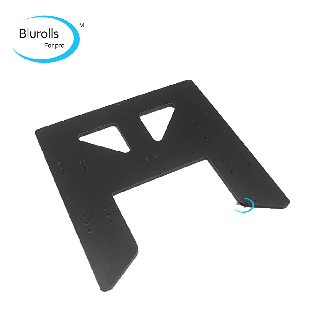 Anet A8 A6 3D Printer Upgrade 6MM aluminum composit Plate Y-Carriage upgrade plate HEATED BED holder