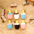 1pcs Cute Mini Ice Cream Squishy Charm / Decompression Toys With Original Package