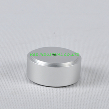 1pc 49x22mm Sliver aluminum feet HIFI pad Chassis DIY Headphone Amplifier Speaker DAC CD Audio 2 feet passive crystal sliver 18 pcs