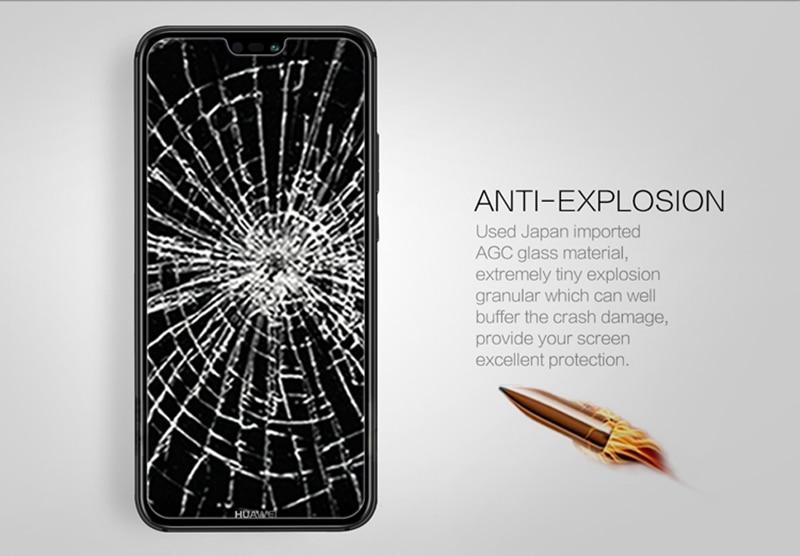 Nillkin Amazing H+Pro 0.2mm Tempered Glass for Huawei P20 Lite Screen Protector for Huawei P20 Lite/Nova 3e Dual Sim Glass Film