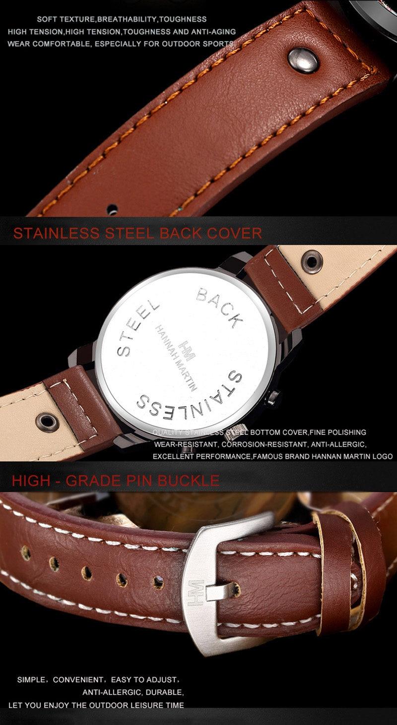 HTB1UGtgacnrK1RjSspkq6yuvXXaB Relogio Masculino Mens Watches Top Luxury Brand Waterproof Sports Military Watch Men Fashion Leather Quartz Male Wristwatch
