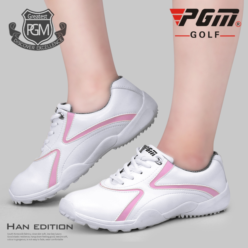 Pgm Woman Waterproof Golf Shoes Ladies Wear-Resistant Skidproof Golf Sneakers Female Breathable Soft Golf Shoes AA10095Pgm Woman Waterproof Golf Shoes Ladies Wear-Resistant Skidproof Golf Sneakers Female Breathable Soft Golf Shoes AA10095