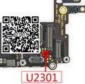 5 pçs/lote u2301 ic para iphone 6 6 plus câmera principal fonte de alimentação ic 2.8 v tubo de 4 pinos