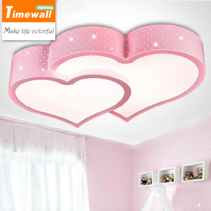 Led ceiling lamp lights soulmate marriage room children room living room bedroom study lamps wholesale