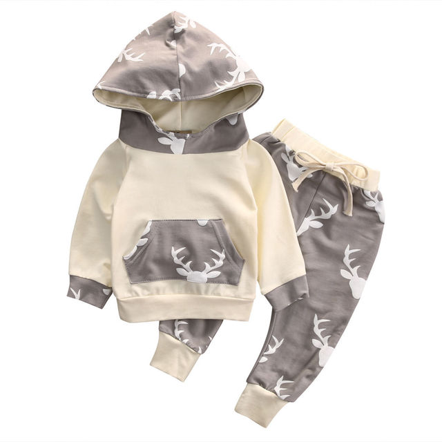 c8235af504504 2016 Autumn style infant clothes baby clothing sets Baby Boys Camouflage  Camo Hoodie Tops Long Pants 2Pcs Outfits Set Clothes