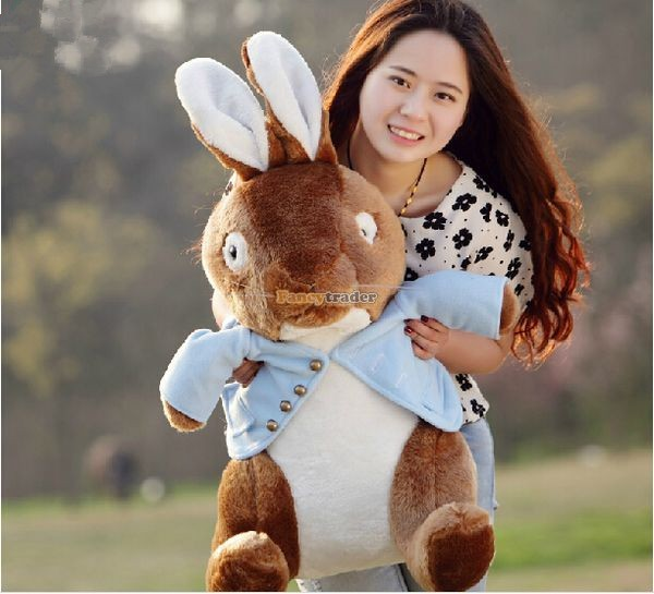 Fancytrader 31\'\' 80cm Fashion Giant Stuffed Soft Plush Peter Rabbit, Free Shipping FT50447  (1)