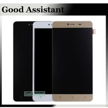 Preto/Branco/Ouro Para Gionee Maratona M5 Mini Screen Display LCD de Toque peças de Reposição Assembléia Lcds Do Telefone Móvel