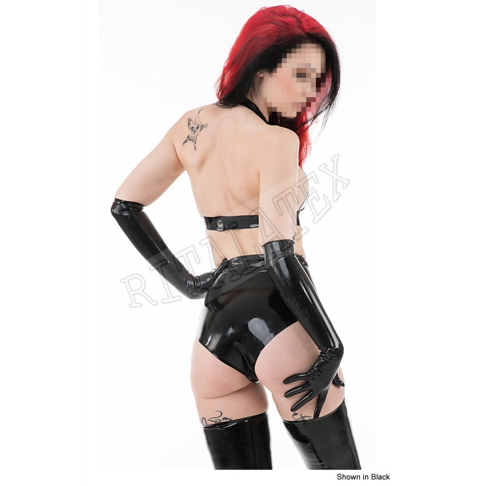 b953194da6 0.6MM Latex lingerie Sets Sexy Latex Mistress Dresses Bra With Knickers  High Quality Latex Rubber HandMade(NO Gloves)