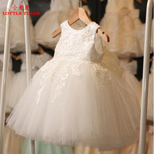 2017 First Communion Dresses For Girl Tulle Lace Infant Toddler Pageant Flower Girl Dress for Wedding and Birthday and christmas