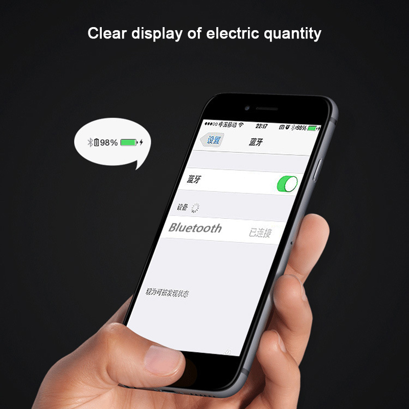 MALUOKASA Car Bluetooth 4.1 Headset Hands Free Earphone Phone Calls Voice Control Stereo Music Audio Receiver Driving Earbuds