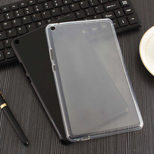 Caso Suave Del TPU + Clear Film + Pen Para Huawei MediaPad T3 8.0 Tablet Cubierta de Gel de Silicona transparente para KOB-L09/KOB-W09 8 pulgadas