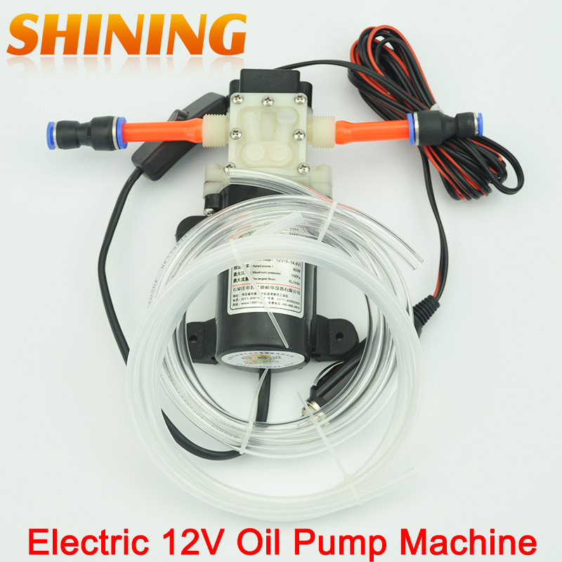 Portable Oil Pump Car Electric 12v Change Diy Pumping Machine Extractor
