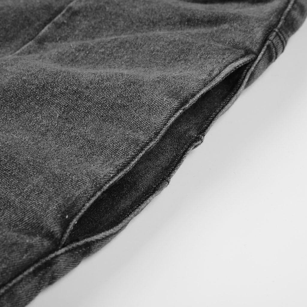 HTB1UGwDSAzoK1RjSZFlq6yi4VXaf modis Women Elastic Butto Tassel Loose  Denim Casual Small Feet  Slim Fit Jeans vaqueros mujer calca jeans feminina 2019#4
