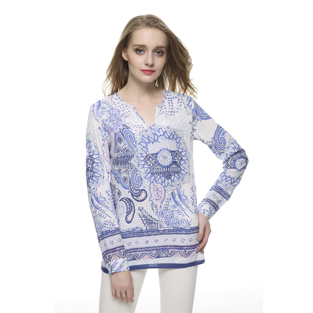 Compare Prices on Blue Blouse- Online Shopping/Buy Low Price Blue ...