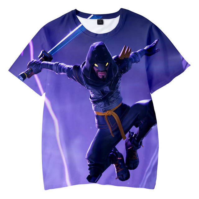 Boys Tops Summer 2018 nice Children T shirts Boys Clothes Kids Tee Shirt Fille 3D game Character Prints Baby Boy Clothing 2