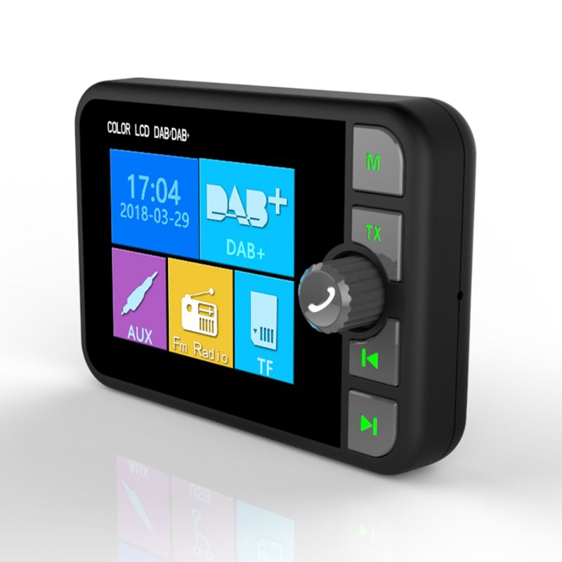 Mini adaptateur récepteur Radio numérique DAB coloré écran LCD Bluetooth MP3 transmetteur FM pour accessoires de voiture 10166